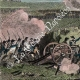 DETAILS 03   French Revolutionary Wars - British Army vs French Army - Siege of Toulon - Conflagration - Burning (1793)