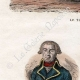 DÉTAILS 02 | Tauromachie - Torero - Matador - Portraits - De Prez de Crassier  (1733-1803) - Joseph Servan (1741-1808)