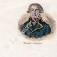 DÉTAILS 05 | Tauromachie - Torero - Matador - Portraits - De Prez de Crassier  (1733-1803) - Joseph Servan (1741-1808)