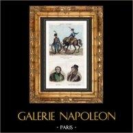 Ejército Francés - Artillería - 1792 - Retratos - Charles de Bonchamps (1760-1793) - Henri de La Rochejaquelein (1772-1794)