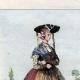 DÉTAILS 03 | Armée Autrichienne - Uniforme Militaire - 1793 - Costumes de femmes - Hollande - Pays-Bas - Gueldre - Frise