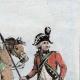 DÉTAILS 04 | Armée Autrichienne - Uniforme Militaire - 1793 - Costumes de femmes - Hollande - Pays-Bas - Gueldre - Frise