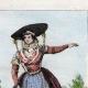 DÉTAILS 06 | Armée Autrichienne - Uniforme Militaire - 1793 - Costumes de femmes - Hollande - Pays-Bas - Gueldre - Frise