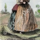 DÉTAILS 07 | Armée Autrichienne - Uniforme Militaire - 1793 - Costumes de femmes - Hollande - Pays-Bas - Gueldre - Frise