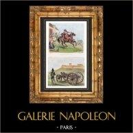 French Revolutionary Wars - War in the Vendée - Women - Artillery