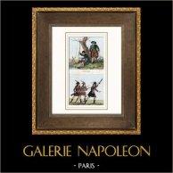 Rivoluzione Francese - Disabile - Guerra - 1793 - Abbigliamenti di revolucionári - Ecole de Mars