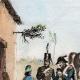 DÉTAILS 01 | Une Halte - Repos des soldats - Costumes de femmes - Sables d'Olonne - Vendée (France)