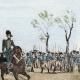 DÉTAILS 04 | Une Halte - Repos des soldats - Costumes de femmes - Sables d'Olonne - Vendée (France)