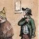 DÉTAILS 06 | Une Halte - Repos des soldats - Costumes de femmes - Sables d'Olonne - Vendée (France)
