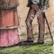 DÉTAILS 08 | Une Halte - Repos des soldats - Costumes de femmes - Sables d'Olonne - Vendée (France)