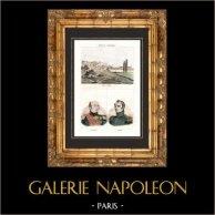 Vista de Náuplia (Grécia) - Retratos - Edward Codrington (1770-1851) - Login Geiden Conde van Heyden (1773-1850)