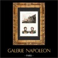 Vue de Morée - Péloponnèse - Grèce - Portraits - Nicolas-Joseph Maison (1771-1840) - De Rigny (1790-1873)