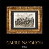 Batalla de Waterloo en 1815 - Napoleón Bonaparte - Guerras Napoleónicas
