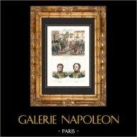 Napoleon Bonaparte in Reims (1814) - Campaign of France - Portraits - Barbanègre (1772-1830) - Berckheim (1775-1819)