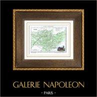 Ancienne carte - France - Tarn (Albi)