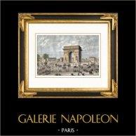 Monuments of Paris - Arc de Triomphe of Paris