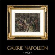 Rivoluzione francese - Arrivo della Famiglia Reale a Parigi dopo il suo Arresto ad Varennes (1791)