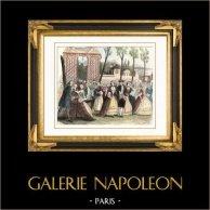 Historia y Monumentos de Paris - Un Paseo sobre los Bulevares de Paris al 18 Siglo