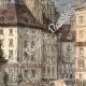 DÉTAILS 04 | Histoire et Monuments de Paris - Ancienne Colonne sur la Place du Chatelet à Paris (1858)