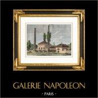 Denkmaler von Paris - Ancienne pompe à feu de Chaillot - Pumpe - Frères Périer