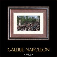 Champs-Elysées - The Franco-Prussian War (1870) - Siege of Paris