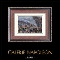Champs-Elysées - Paris - Funeral of Victor Noir (1870)