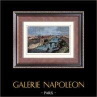 Vue de Paris - Les Quais de la Seine en 1847 (France)