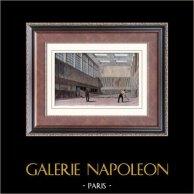 Dernier Jeu de Paume à Paris - Passage Cendrier - Détruit en 1861