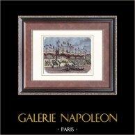 Hippodrom i 1835  - Hästkapplöpning - Racehästar - Chevaux de Courses