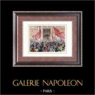 Révolution française de 1848 - Insurrection - Alphonse de Lamartine - Deuxième République Française (Février 1848)