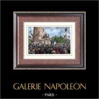 Place de la République - Paris - Bastille Day - First celebration - July 14th 1880