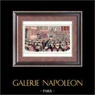 Révolution française de 1848 - Deuxième République Française - Palais du Luxembourg - Louis Blanc - Organisation du travail