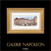 Vista di Parigi - Palais Royal - Opéra Garnier - Palais Garnier