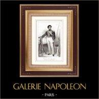 Retrato de Guy-Victor Duperré (1775-1846) - Almirante Francés