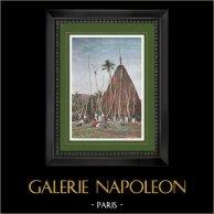 New Caledonia - Shack of Chief Gélima - Nakety - Overseas Territoriy (France)