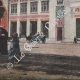 DÉTAILS 04   Vue du Caire - Gare de chemin de fer (Egypte)