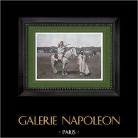 Nordafrica - Falconiere - Caccia - Cavaliere - Trajes
