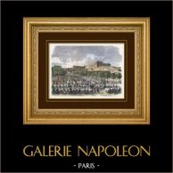 Campaign in Italy - 1859 - Napoleon III - Banquet of Army of Italy in Versailles Orangerie (1859)