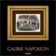 Campaign in Italy - 1859 - Franco-austrian War - Napoleon III - Reception of Ambassadors in Saint-Cloud Castle