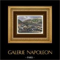 Campaña en Italia - Guerra franco-austríaca - Napoleón III - Ejército francés libre Lanslebourg (1859)