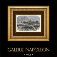 Campagne in Italië - 1859 - Frans-Oostenrijkse Oorlog - Napoleon III - Slag bij Solférino (24 juni 1859)