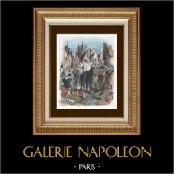 History of Paris - Charles VI of France - Taxes - Proclamation - Halles