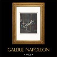 Portrait of Napoleon Bonaparte - Hush! Dad is Sleeping!