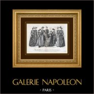 Stampa di Moda - Parigi - 1890 - Madame Pelletier-Vidal