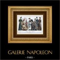 Modestich - Paris - 1892 - Mademoiselle Thirion - Madame Emma Guelle