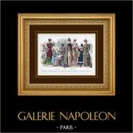 Modestich - Paris - 1892 - Mademoiselle Thirion - Madame Emma Guelle - Madame Taskin