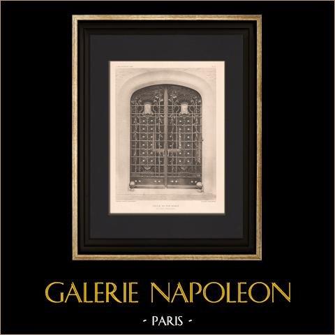 Architectuur - Huis in Neuilly-sur-Seine - Wrought Iron Gate |