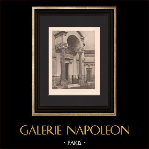 Architectuur - Armenian Chapel - Parijs (Guilbert - Dufeu) |