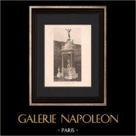 Architecture - Funerary Monument - Passy Cemetery - Paris (Defrasse - Capellaro)