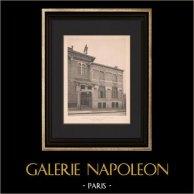 Architecture - Dispensary at Paris - Facade (Guyon)